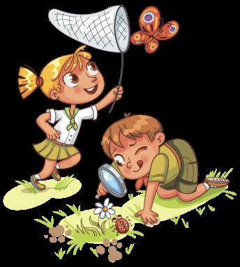 Дети сверху