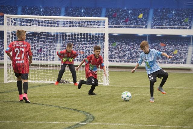 Проект «Футбол для дружбы»: юные рефери