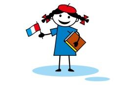 Монстр Поль изучает карту Франции