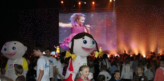 4 ноября 2011 – Дискотека Детского радио в Санкт-Петербурге