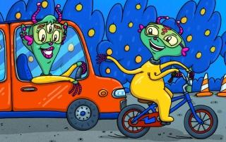 Автомобили. Велосипеды
