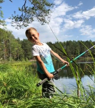 Рыбу не поймали, но отлично отдохнули)