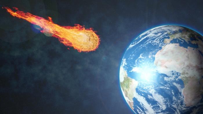 Когда упал первый метеорит?