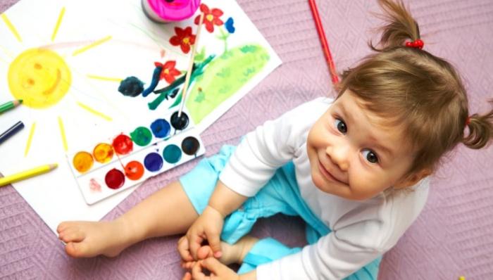 Какими красками лучше рисовать?