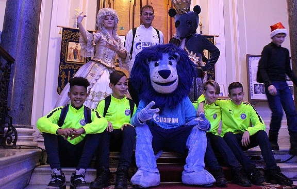 Воспитанники футбольной академии венской «Аустрии» побывали в гостях у «Зенита»