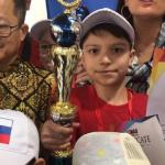 Российский школьник победил на всемирных соревнованиях по ментальной арифметике
