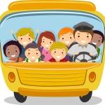 В Омске водитель маршрутки бесплатно возит отличников