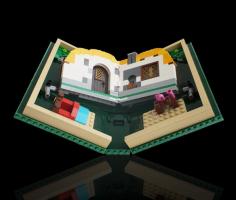 Lego спародировала гибкие экраны новых смартфонов с помощью книжки-конструктора