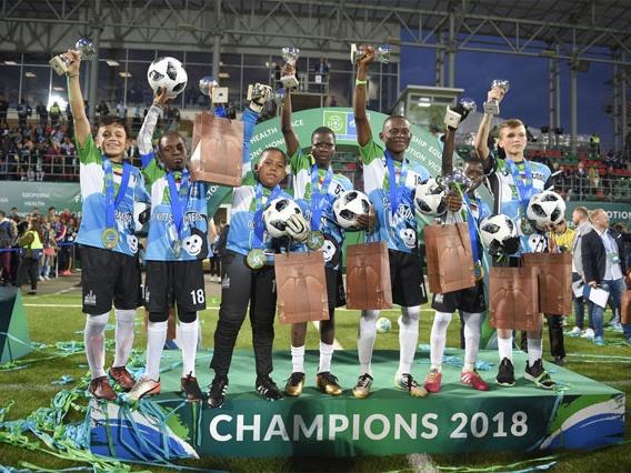 Проект «Футбол для дружбы»: команда Шимпанзе – чемпион мира по «Футболу для дружбы»