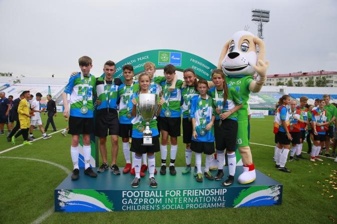 Матч по «Футболу для дружбы» завершил Международные детские игры в Уфе