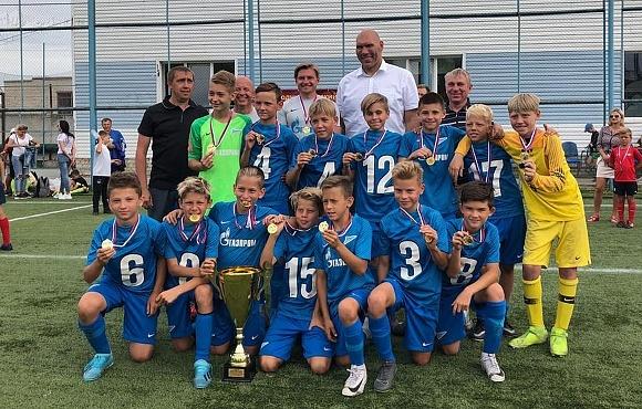 «Зенит» U-11 выиграл международный турнир в Брянске