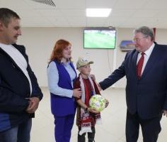 В Мордовии наградили мальчика, который спас сестру из горящего дома