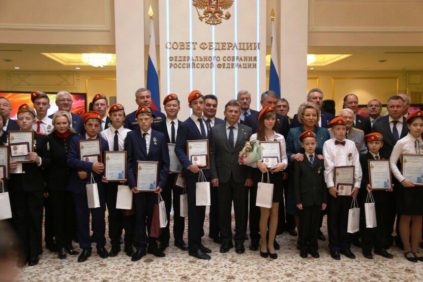 В Москву приехали дети-герои со всей страны