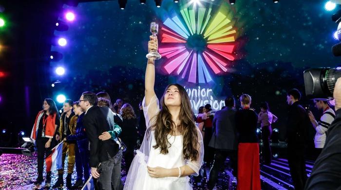Победительница конкурса «Детское Евровидение» - обладатель приза Детского радио