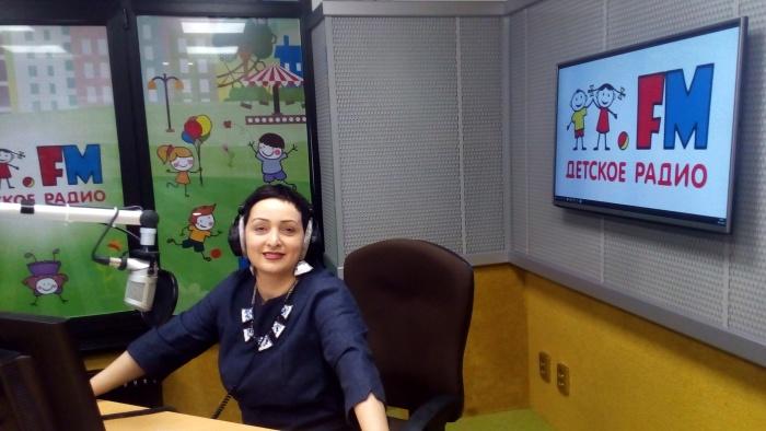 Певица Этери Бериашвили в гостях у Детского радио