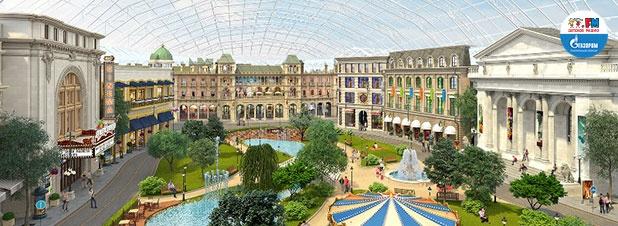 «Остров мечты» станет крупнейшим парком развлечений в Европе и Азии