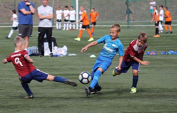 «Зенит» U-9 стал серебряным призером турнира памяти Всеволода Боброва