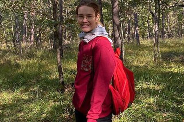 Наталья Водянова сводила детей в лес за грибами