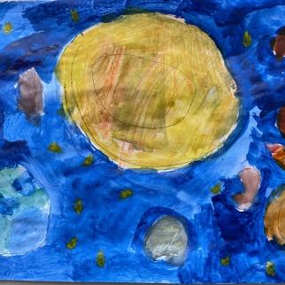 Рисунок-победитель участника Николай Рудевич, 6