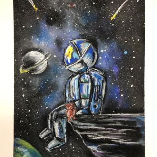 Рисунок-победитель участника Никитина Мария, 9