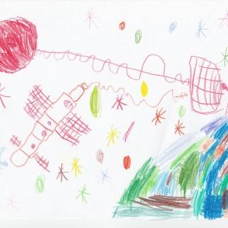 Рисунок-победитель участника Соловьева Александра Геннадьевна, 4