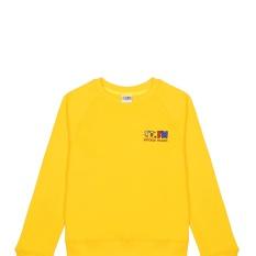Толстовка с логотипом Детского радио (жёлтая)