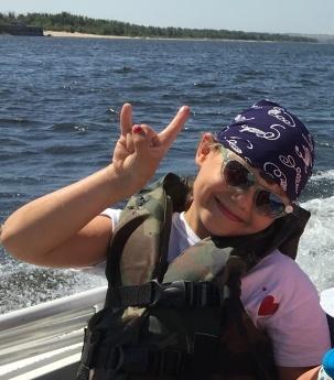 Арина, 7 лет. Отдых в Волгограде - супер!
