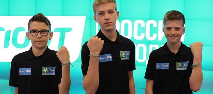 Проект «Футбол для дружбы»: участники из России
