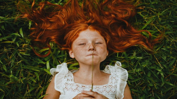 Дети солнца: почему волосы рыжие?