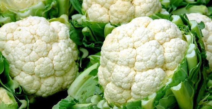 Рецепт приготовления цветной капусты для детей