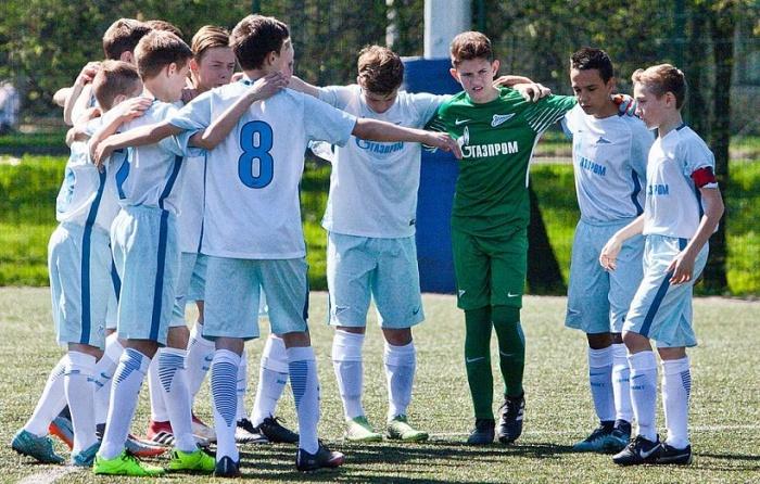 «Зенит» U-13 стал победителем международного турнира в Голландии