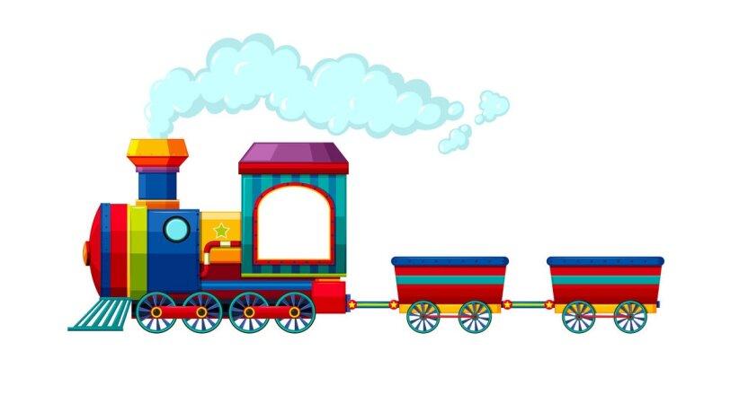 Поезд тоже умеет гавкать?