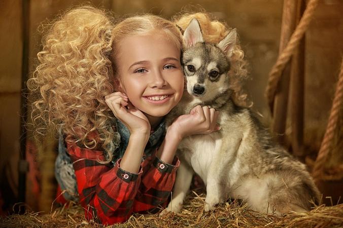 В Подмосковье нашли девочку, которая умеет говорить с животными