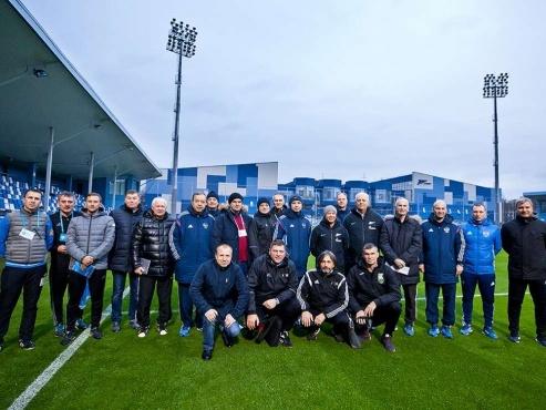 В Центре повышения квалификации тренеров начался семинар РФС и УЕФА по обучению инструкторов