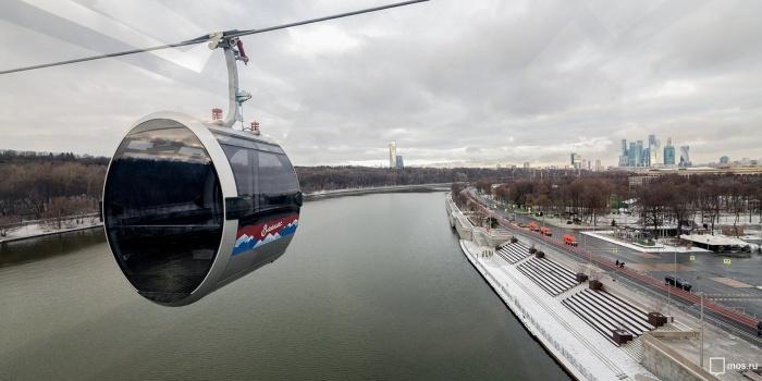 В Москве открылась настоящая канатная дорога