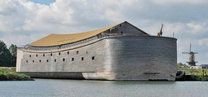"""Житель Нидерландов готовится к путешествию на """"Ноевом ковчеге"""""""