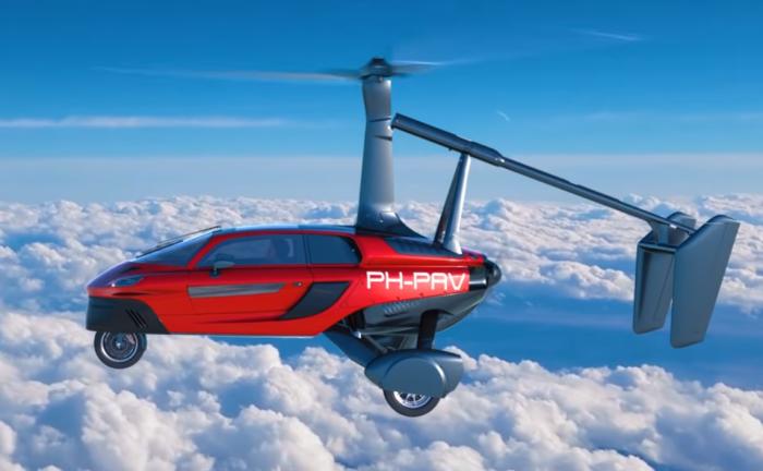 Стало известно, когда начнут продаваться первые летающие автомобили