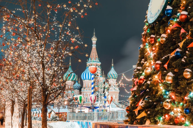 Какая погода ждёт Москву на Новый год?