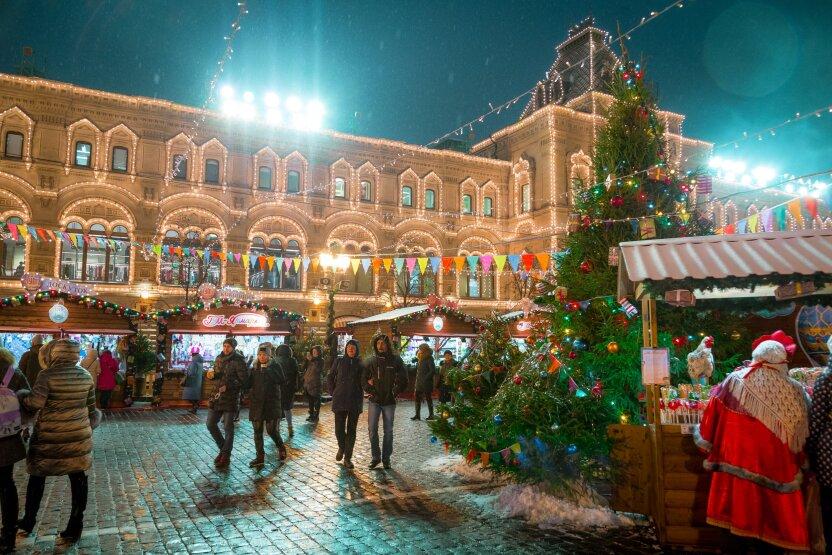 Россия встретила Старый Новый год