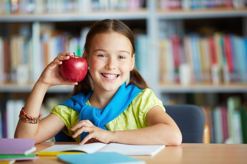 В российский школах детей будут учить правильному питанию