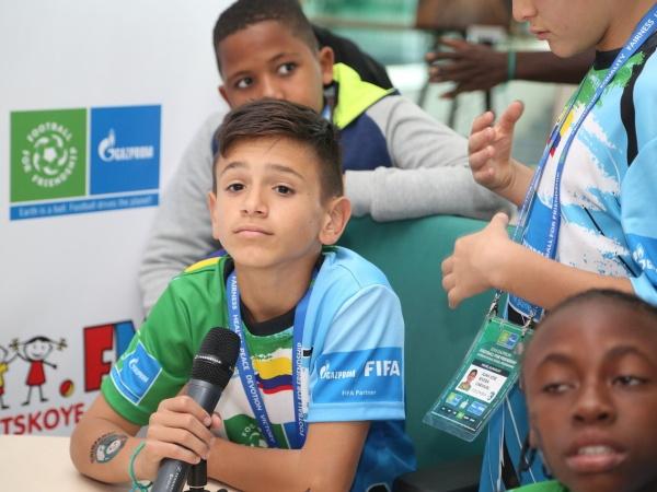 Детское радио поучаствовало в финале программы «Футбол для дружбы»