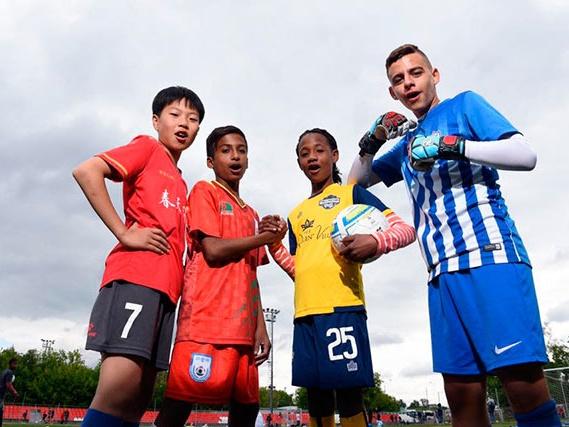 Проект «Футбол для дружбы»: чемпионат мира по «Футболу для дружбы»