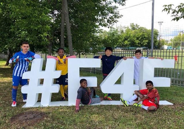 Проект «Футбол для дружбы»: второй день Международного лагеря дружбы