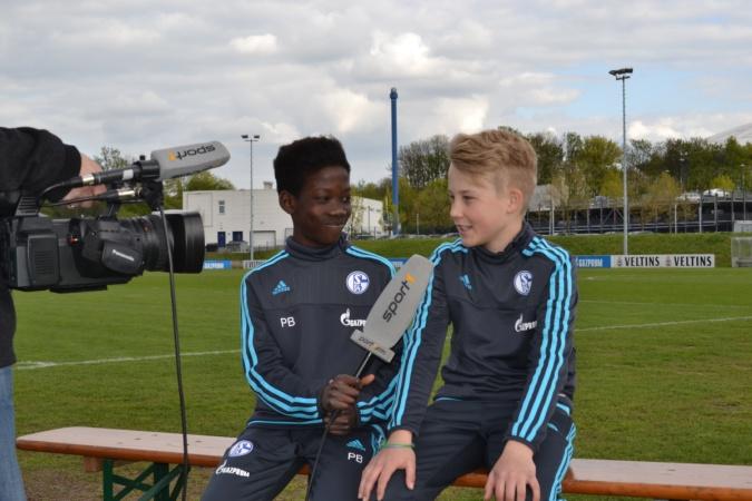Детский пресс-центр проекта «Футбол для дружбы» начал работу