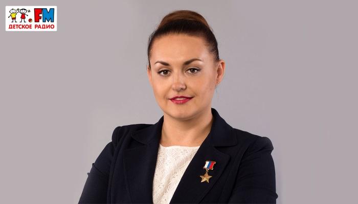 В гостях у Детского радио лётчик-космонавт, Герой России Елена Серова