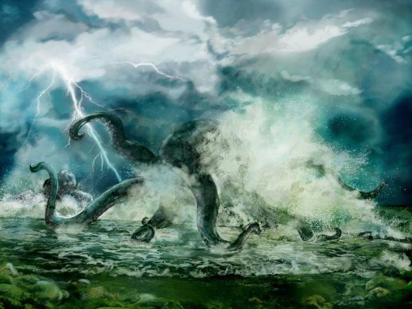 Британские исследователи обнаружили на дне Индийского океана загадочное существо