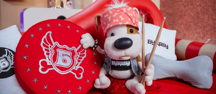 Рок-щенок Букабу теперь в эфире Детского радио