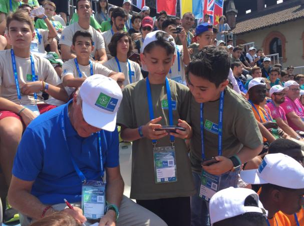 Глобальный посол Международной детской социальной программы ПАО «Газпром»  «Футбол для дружбы» Франц Беккенбауэр поделится мастерством с Юными участниками со всего мира в Мадриде