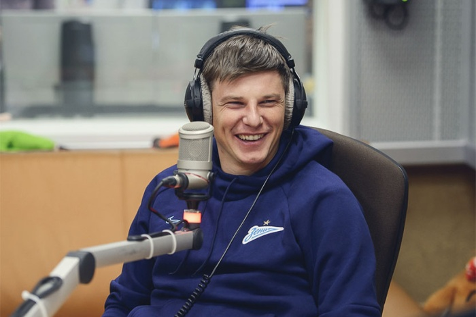 Андрей Аршавин в гостях у Детского радио