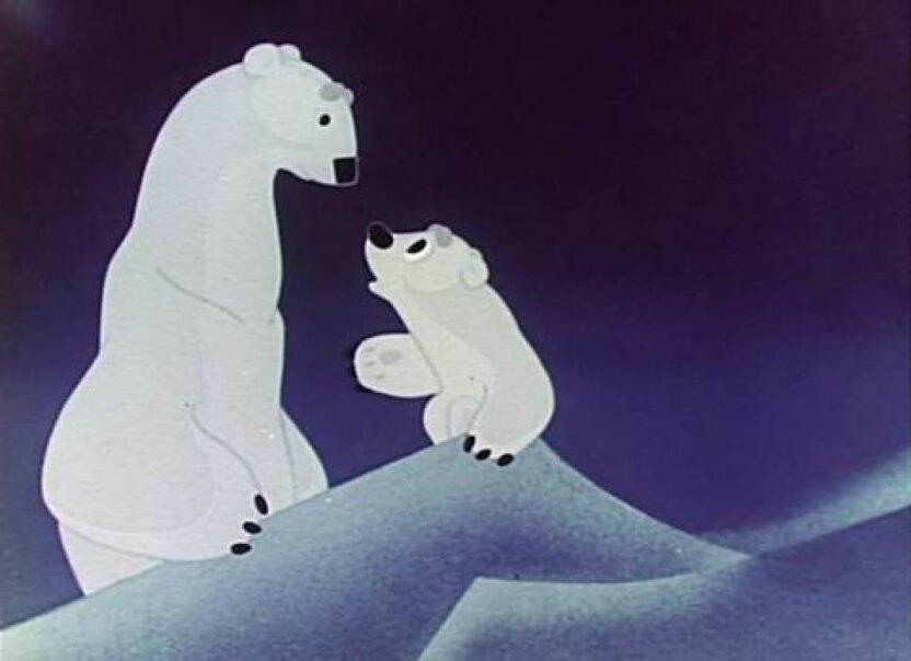 Спустя 50 лет выходит новый мультфильм про медвежонка Умку